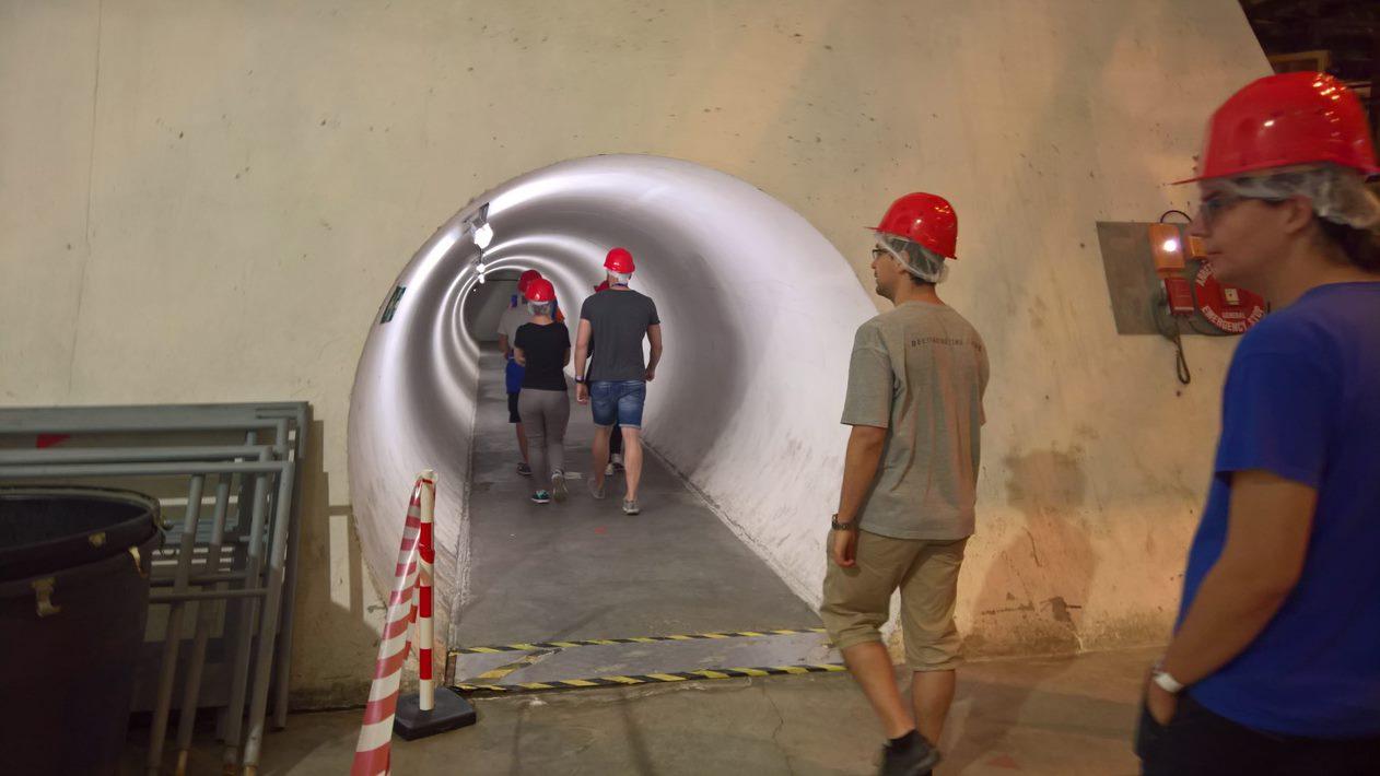 Lombiq visits CERN.