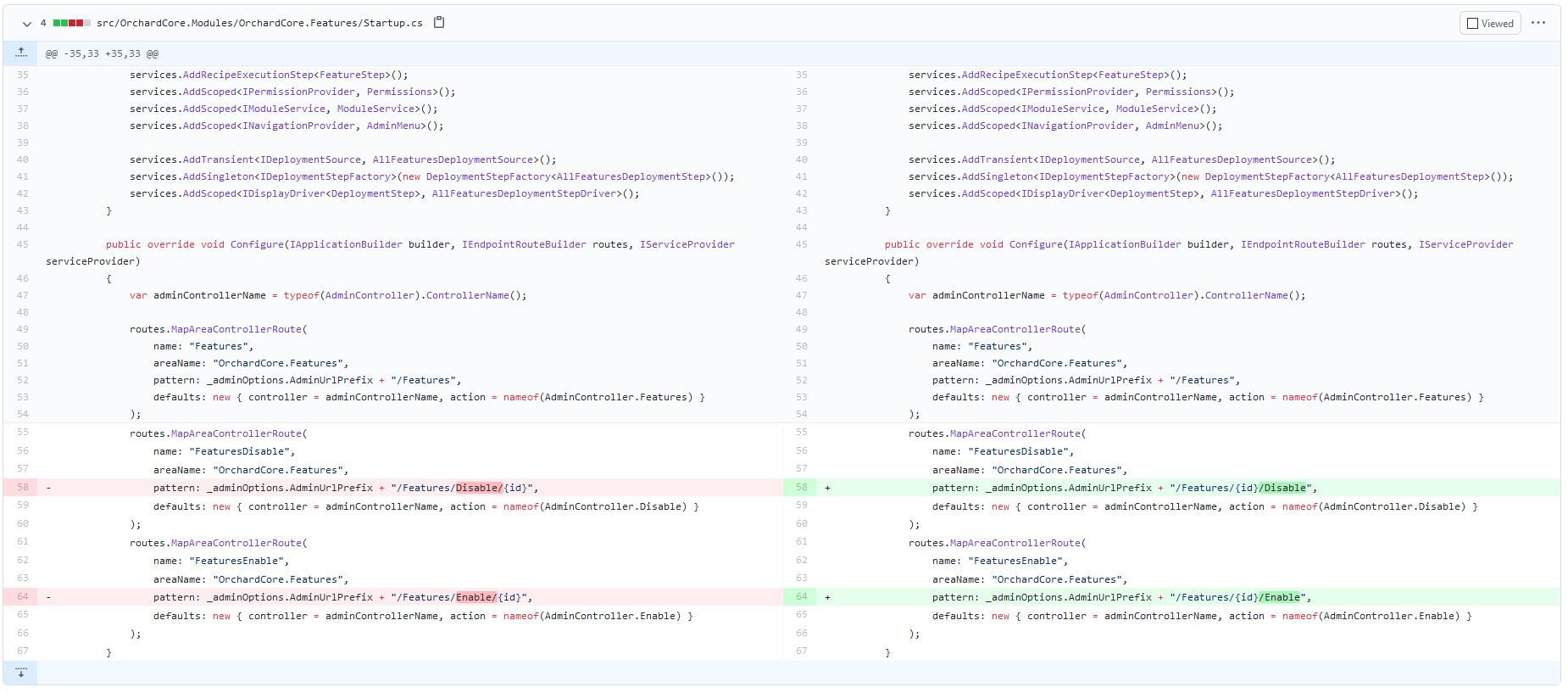 Fixing IIS URL blocking