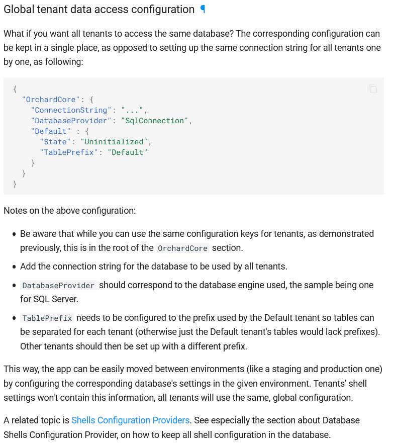 Global tenant data access configuration documentation