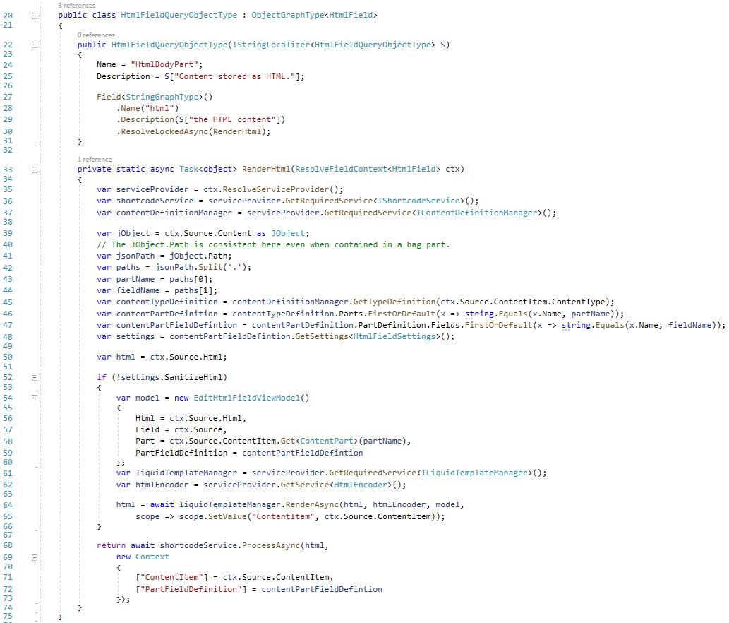 Resolving shortcode in HTML Field