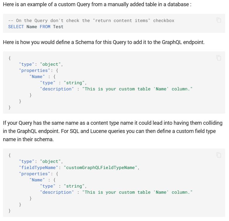 Add FieldTypeName to query schema for GraphQL