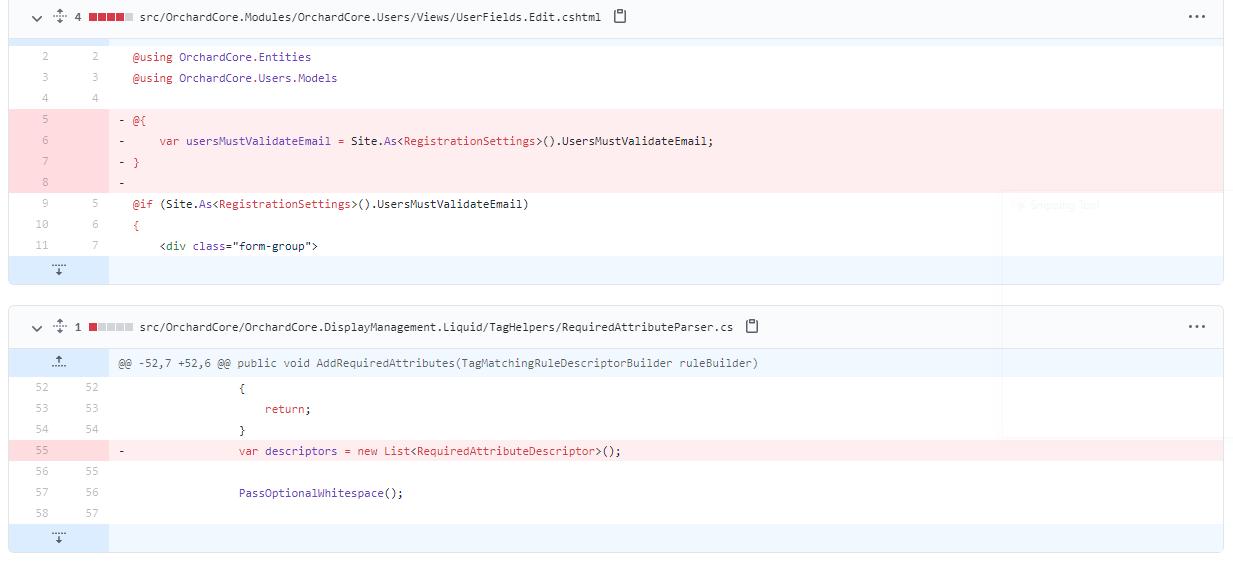 Removing unused variables
