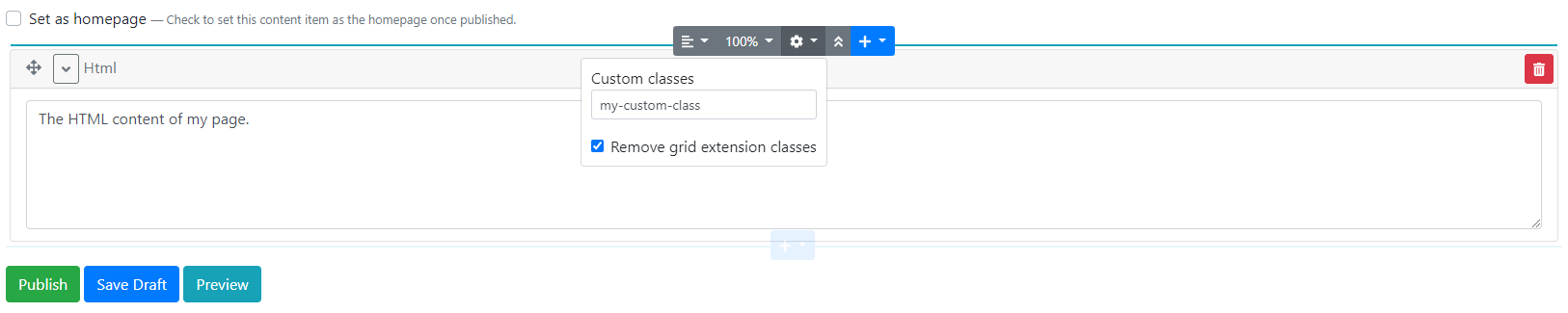 Using the Flow Extensions of the Helpful Extensions module