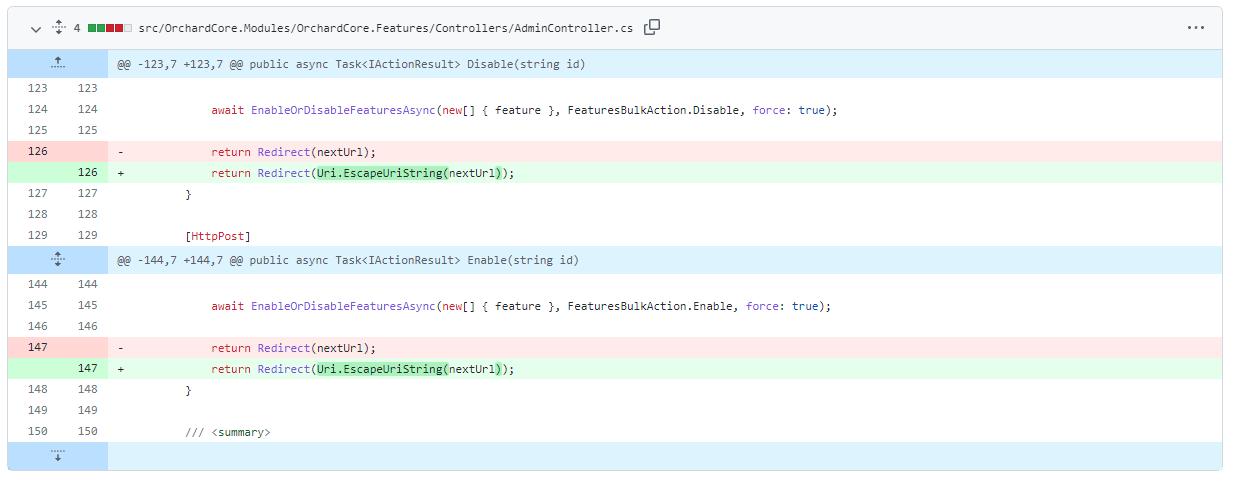 Encode redirect URLs